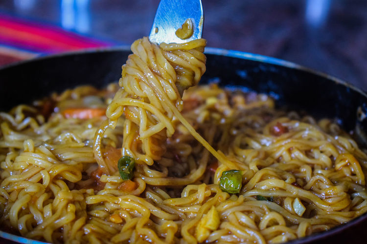 Testy homemade noodles