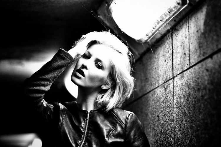 Subversive Headshot Blackandwhite Shootermag_uk Shootermag Portrait EyeEm Best Shots Underpass