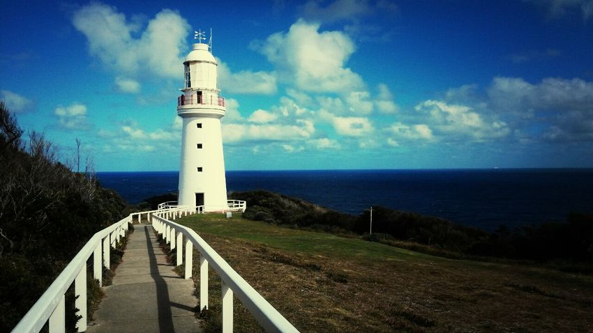 Greatoceanroad Lighthouse Sky
