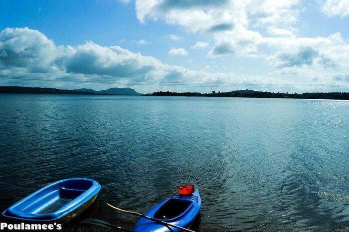 #Blu #Boats #Lake #sky #Vacation #water Calm Nautical Vessel Reflection Scenics Tranquil Scene
