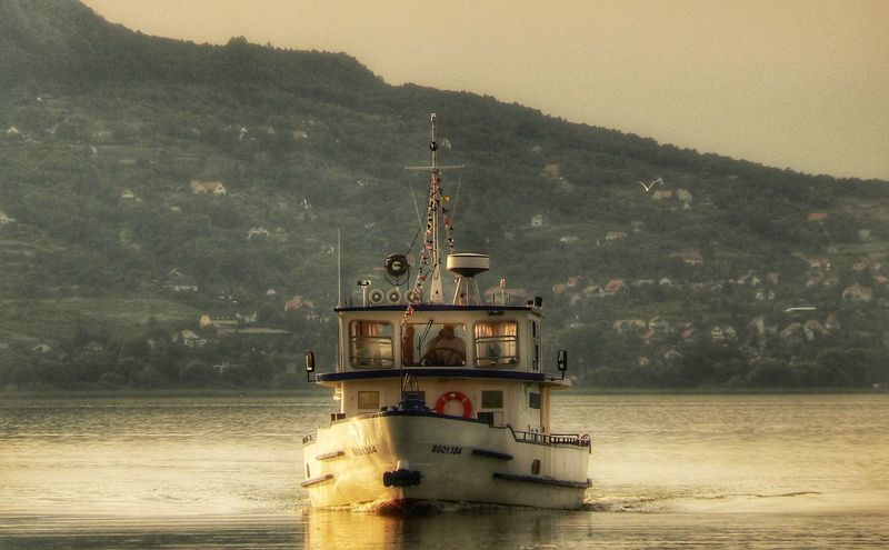 Boat Summer Balaton Lake Fonyód Boat EyeEmNewHere