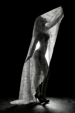 Black & white shot from a studio shoot. Model Modelphotography Shoot Photoshoot Studio Studio Photography Lingerie Blackandwhite Girl Backlight