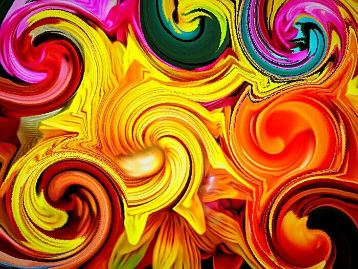 Swirls Swirlyflowers Vangogh Inspired Colorful Color Portrait Phycodelic Trippy Whoa Live In The Moment Colors Of Nature Unedited Photo JUST KIDDING LOL Totally Edited Photo Dreamy Reality Isnt Nature Grand? Ubu&I'llbme