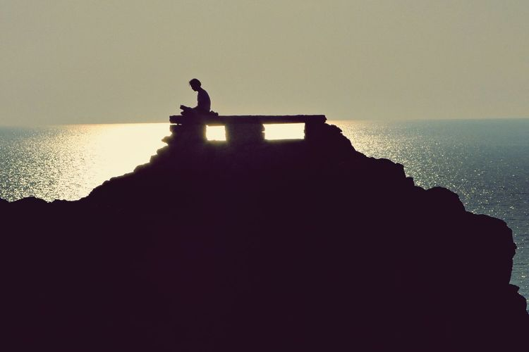 Menorca Sea Silouette SPAIN Spain♥ Summer Memories... Summer Views Punta Nati Mediterranean  People Peace And Quiet Minimalism The Essence Of Summer Quiet Moments The Tourist Menorca Beach The Great Outdoors - 2016 EyeEm Awards Sony Menorcaexisteix Feel The Journey Life Is A Beach