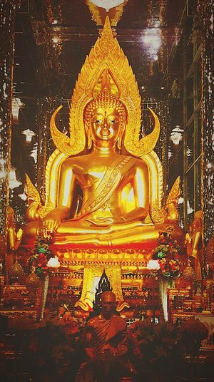 Buddha Gold Gold Colored Close-up Place Of Worship Temple Religion