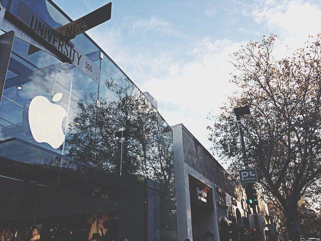 Apple Applestore Paloalto Street Photography Take A Walk
