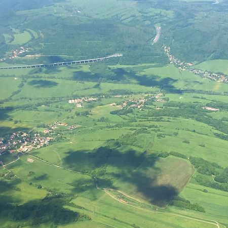 Aerial View Landscape Rural Scene Tranquil Scene Aerial Photography Czech Republic