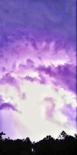 Lightning Backlit Backlog Trees Backlit Clouds Bright Sky Before Lightning Strike Lightning Strikes Thunderstorm Weather Bad Weather Purple Clouds Night Sky Thunderstorms In Distance Distance Storm Storm Approaching Background Purple Rain