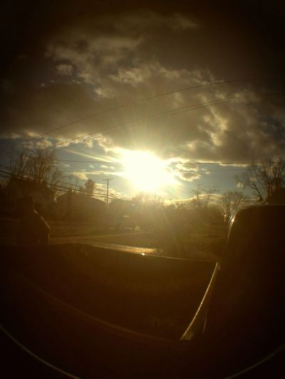 What i took with the fisheye lens for my phone