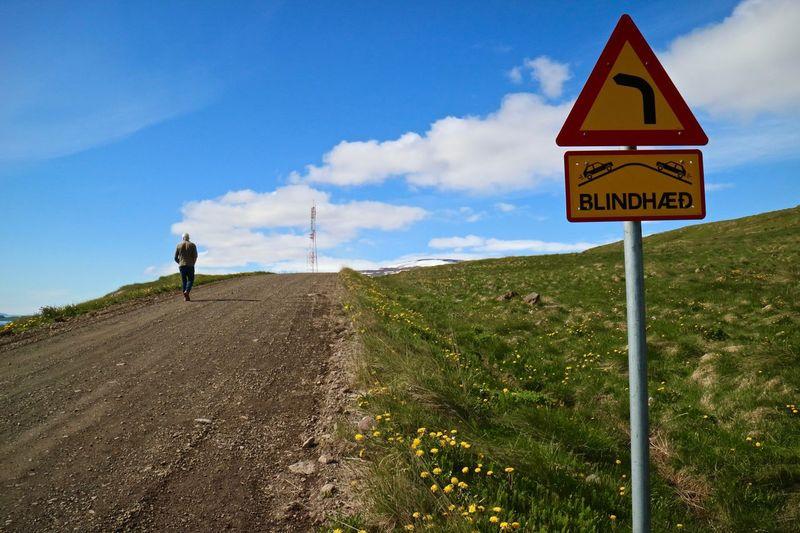 Danger Day Nature Road Wrong Side Dalbær Snæfjallaströnd Blindspot Sunny Day Live A Little  No Worries