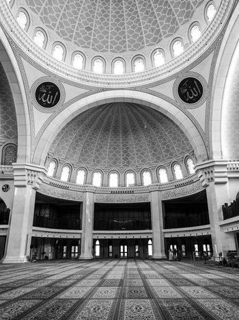 Arch Indoors  Architecture Ceiling Religion Built Structure Place Of Worship Dome Pattern
