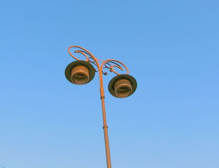 street lamp Low Angle View Sky No People Outdoors Day Still Life Still Life Photography StillLifePhotography Lamp Street Lamp Street Lamp.