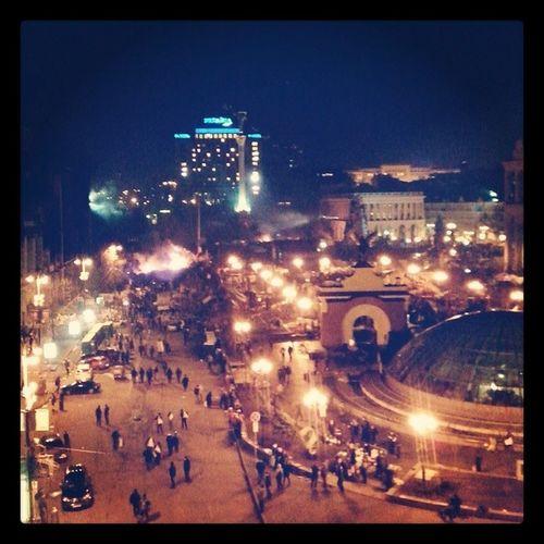 А из нашего окна - революция видна! Maidanlive Kiev Lifenews
