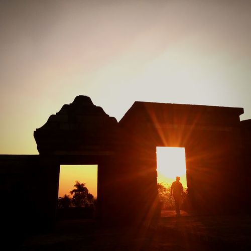 Faces Of Summer Twilightscapes Ratu Boko Temple INDONESIA