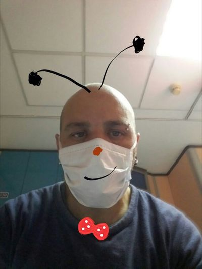 N1h1 Influenza Smiling