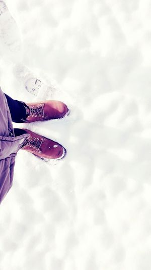 Snow ❄ timberland boot