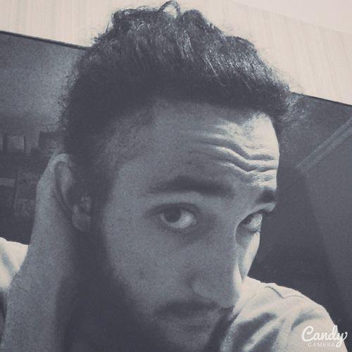 Manbun Beard Boredom