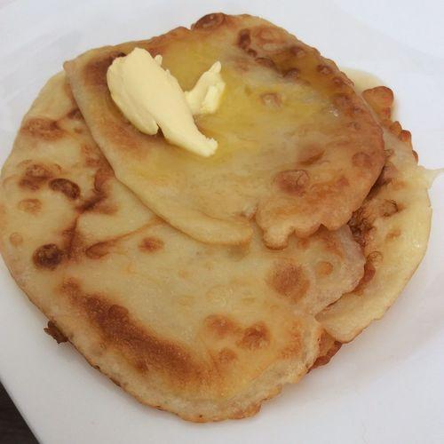Selfmade Pancakes Ahornsyrup Butter Frühstück Lecker Foodporn Sokanndertagbeginnen