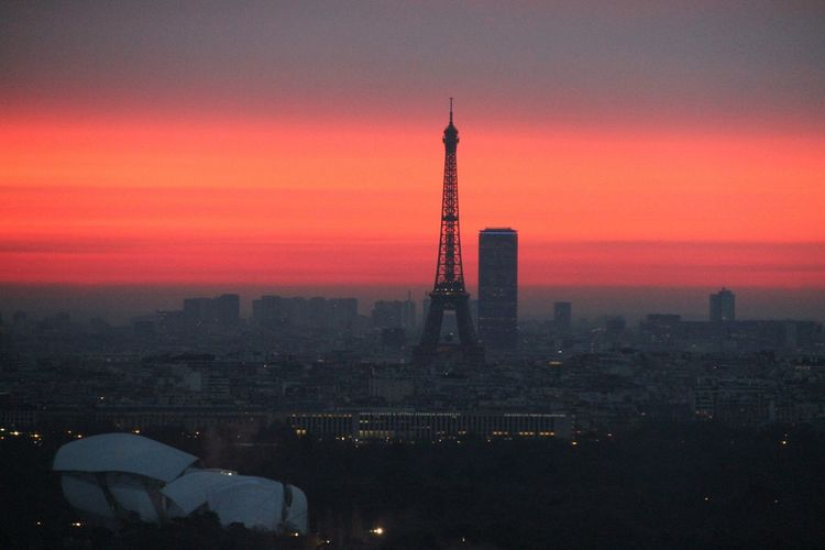 Light Paris Je T Aime Tour Eiffel Colors Urbanphotography Ladefense Sunrise Sunrise_sunsets_aroundworld