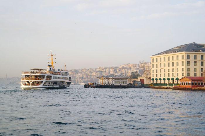 Istanbuldayasam Ferry Bosphorus Besiktas