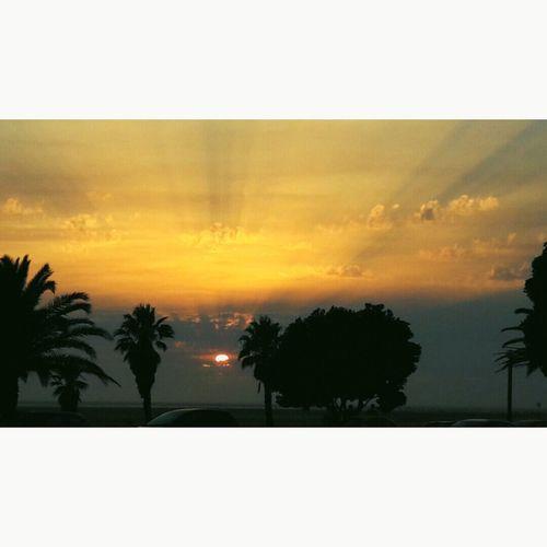 Overnight Success Sunset Sky Tranquil Scene First Eyeem Photo