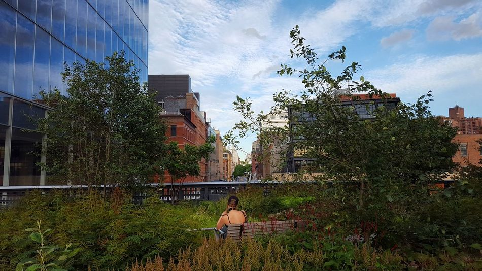 Samsung Galaxy S6 NYC New York New York City The High Line High Line Park High Line Park, Nyc High Line Manhattan Pedestrian Embrace Urban Life EyeEm Selects