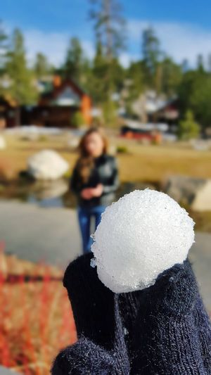 Cold Temperature Winter Snow Close-up Foreground Foreground Focus Snow ❄ Snowball Family and snowballs=snowball fights EyeEmNewHere The Week On EyeEm Mix Yourself A Good Time