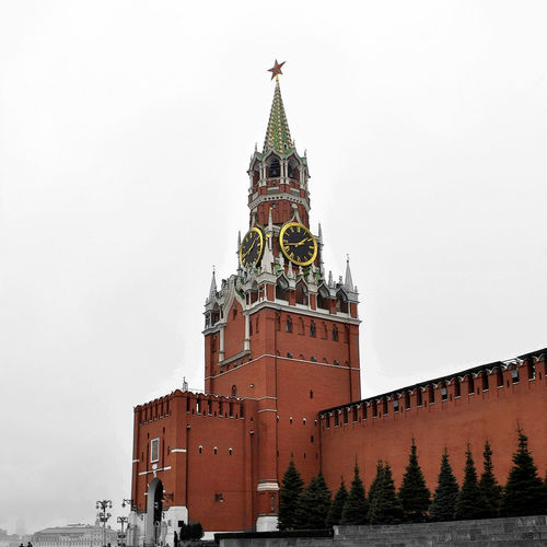 Architecture History Clock Clock Tower Building Exterior Sky City архитектура Moscow Москва ретро Ussr СССР Vintage Nature Russia Россия лмд Lmd LakiMirazh лакиМираж Grunge Kremlin Кремль красная площадь