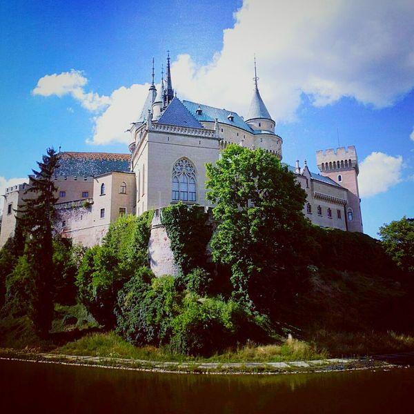 Slovakia, public building, public castle Bojnicr, SlovakiaCastle Building Exterior History Oudoors No People Pink Castle Slovakia Bojnice Bojnicecastle Bojnice Slovakia