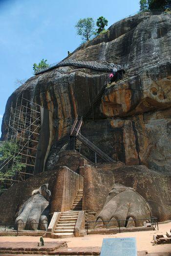 Sigriya rock palace Sigiriya Rock Sigiriya, Sri Lanka,Asia,Travel,Explore, Traveler, Lion Rock, Sigiriya Place Where Sita Was Held Captive King Ravana's Palace Sigriya Sri Lanka Sigriya Rock