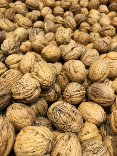 Nuts Abundance Backgrounds Brown Close-up Day Dried Food Dried Fruit Food Food And Drink Freshness Full Frame Healthy Eating Indoors  Large Group Of Objects No People Nut Nut - Food Nutshell Walnut Walnuts