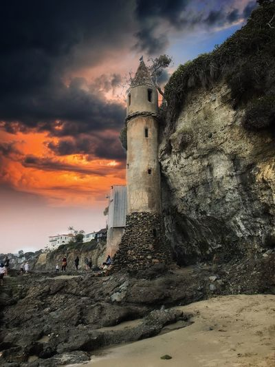 Pirate Tower My Best Photo Nature Landscape Architecture Cloud - Sky Sky Built Structure Architecture Building Exterior Tower Lighthouse Beach Outdoors Scenics - Nature