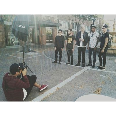 Stoked for these guys. Good stuff coming up #thirdvision #thrdvsn #band #promos #cool #chillguys #shoot #checkthemout #dtsa #work #otcpress #otc #tumblrfamous #otclyfe #epphotography #otcpals #fiveguys