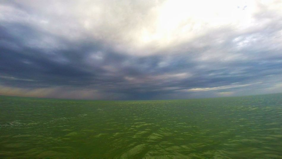 Sea Landscape Cloud - Sky Nature Beauty In Nature Outdoors Weather Sea And Clouds Storm Cloud No People Horizon Thunderstorm Surf Landscapes Surf Photography Surf Session Lacanau-océan The Great Outdoors - 2017 EyeEm Awards Colour Your Horizn