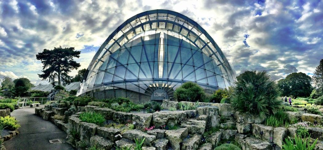 Sci-Fi AF Science Fiction Scifiesque Garden Photography Architecture_collection Kew Gardens Landscape_Collection Wide Angle Panoramic HDR HDR Collection Heavy Filter Filtered Image Filters Filter The Innovator