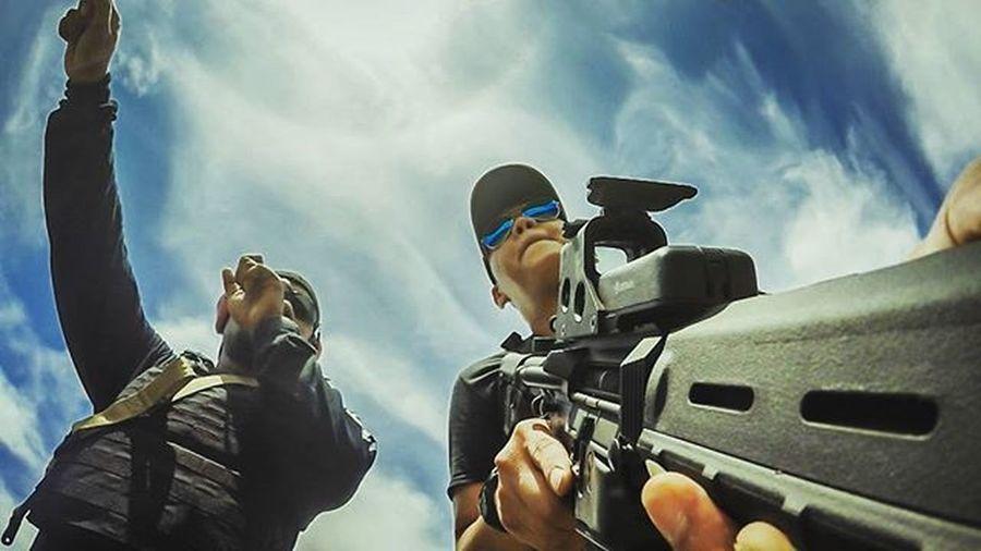 Training day Gopro Goproidmakassar Gproidmakassar Gproid Goproid Goproindonesia M4 Magpuldynamic Magpul 511 Eotech Holosight Shooter Shootingrange Weaponoftheday Guns Gunporn Gunsdaily Gunsofinstagram