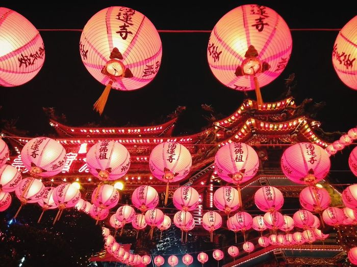 紅光滿溢 Taiwan Temple