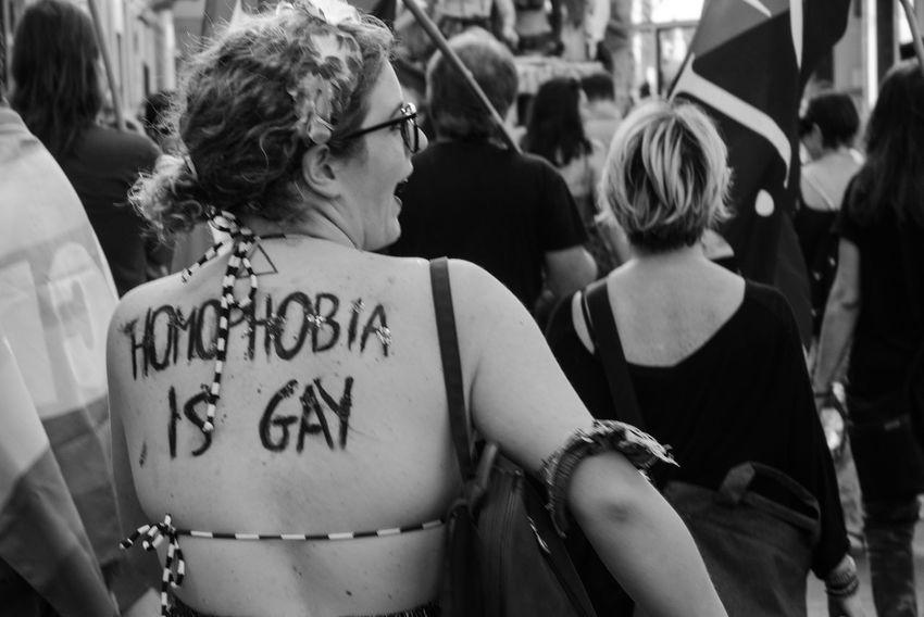 Blackandwhite Civil Rights  Eye4photography  EyeEm Best Shots EyeEm Gallery Gay Gaypride Lesbian Love People Popular Photos Real People Rear View Streetphotography