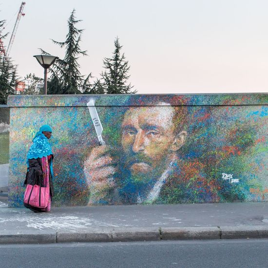 Streetphotography Vincent Van Gogh Streetart Paris Rsa_streetview