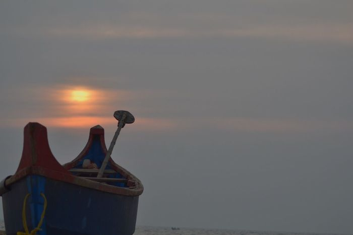 Beachphotography Sea And Sky Boat Kerala India Showcase: February