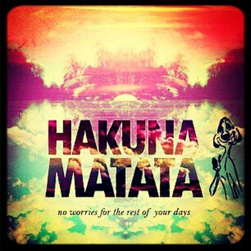 Hakuna Matata♥