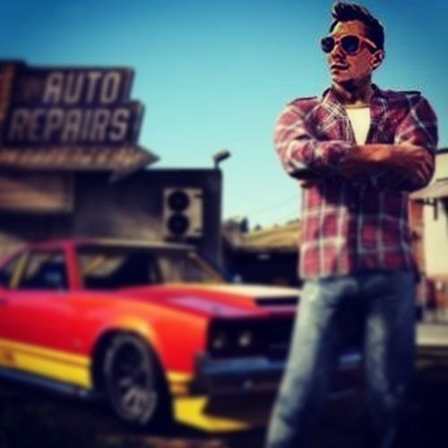 i always wanted to be a GTA character