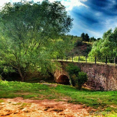 Aqueducte de Bonegues, a la Sèquia SantFruitós de Bages Catalunya gaudeix_cat descobreixcatalunya catalunyaexperience clikcat paisatges landscapes