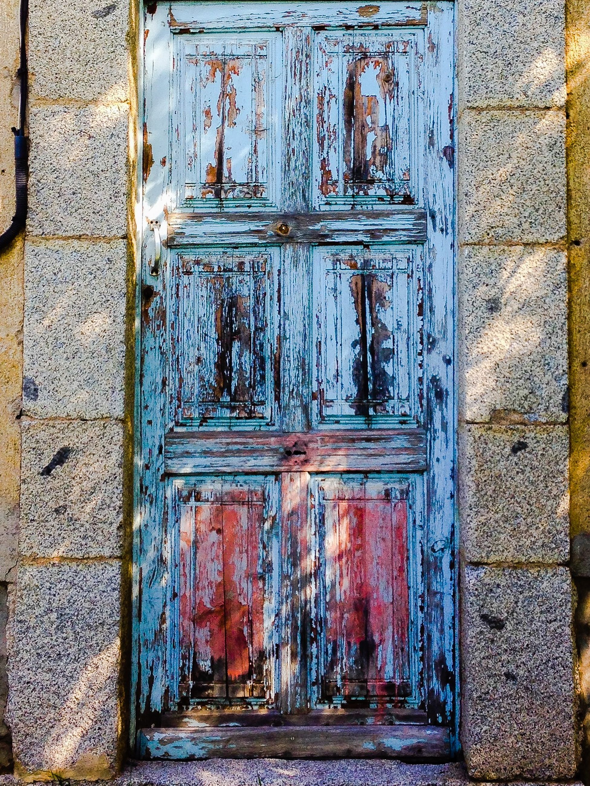 door, built structure, architecture, building exterior, closed, safety, protection, wood - material, security, wall - building feature, full frame, entrance, pattern, window, house, old, wooden, wall, brick wall, outdoors