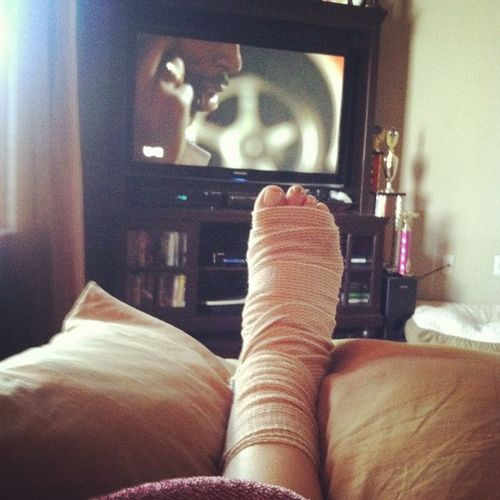 What my next two or three days are going to consist of :-(. I hate not being able to do anything. watching 2fast2furious though makes everything better, js. Plantarfasciitis Hurtslikehell