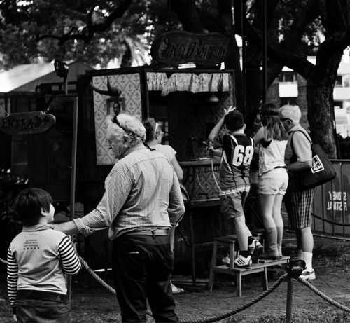 Enjoy The New Normal Real People Lifestyles Outdoors Day Adult People Black And White Snap a Stranger Australia Arts Culture And Entertainment Canon