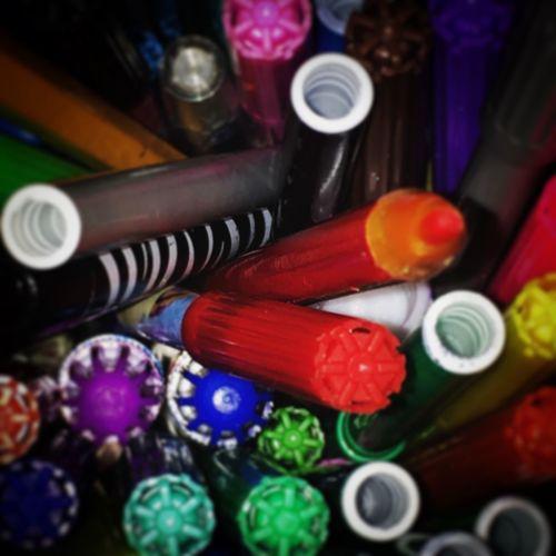 Messedupjournal Coloured Pens Pencils Art
