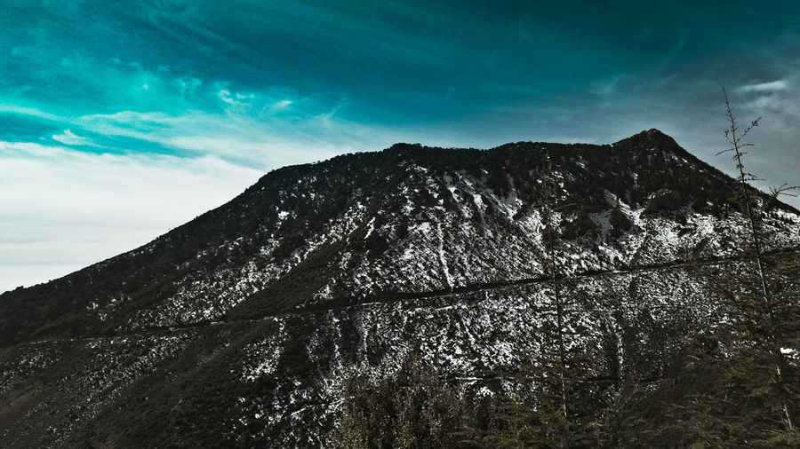 Mountain 🗻 Algeria #fog #snow #Winter Mountain Tikjda Taking Photos Tranquility Travel Destinations EyeEm Selects #clouds  Tree Tree Mountain Tree Area Power In Nature Sky Landscape Cloud - Sky Forest Fire Firefighter