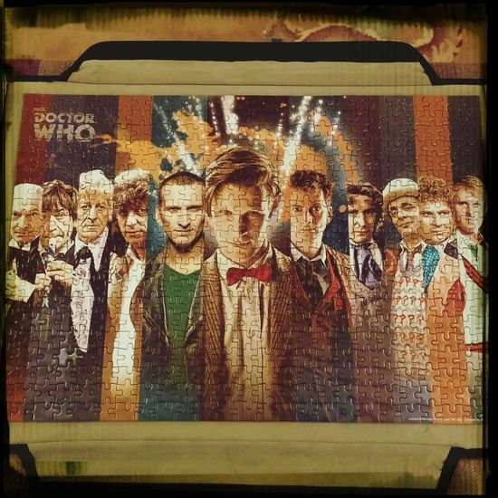 Just finished this 500 piece puzzle.of doctor who. It was really quite hard Dr Who Puzzle500