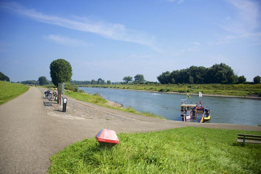 Dutch cycle route 'Rondje Posbank' in Gelderland. Netherlands The Netherlands Cloud - Sky Dutch Holland Ijssel Outdoors Sky Tranquility Water
